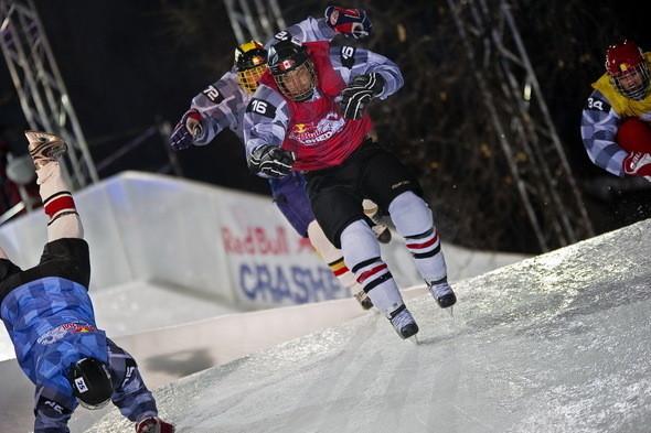 Изображение 1. Финляндия взяла реванш в Москве 26 февраля (Red Bull Crashed Ice 2011).. Изображение № 1.
