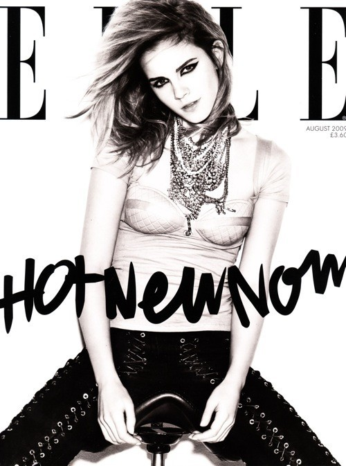 Emma Watson for ELLE UK, August 2009. Изображение № 2.