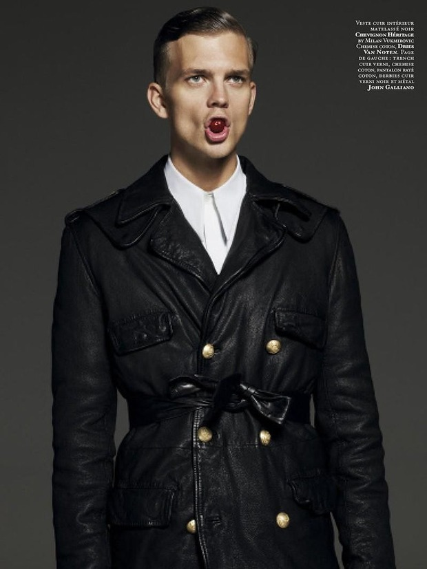 Мужские съемки: Dazed & Confused, i-D, Citizen K, Seventh Man и Men's Folio. Изображение № 36.