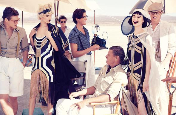 Съёмки: Elle, i-D и Vogue. Изображение № 16.