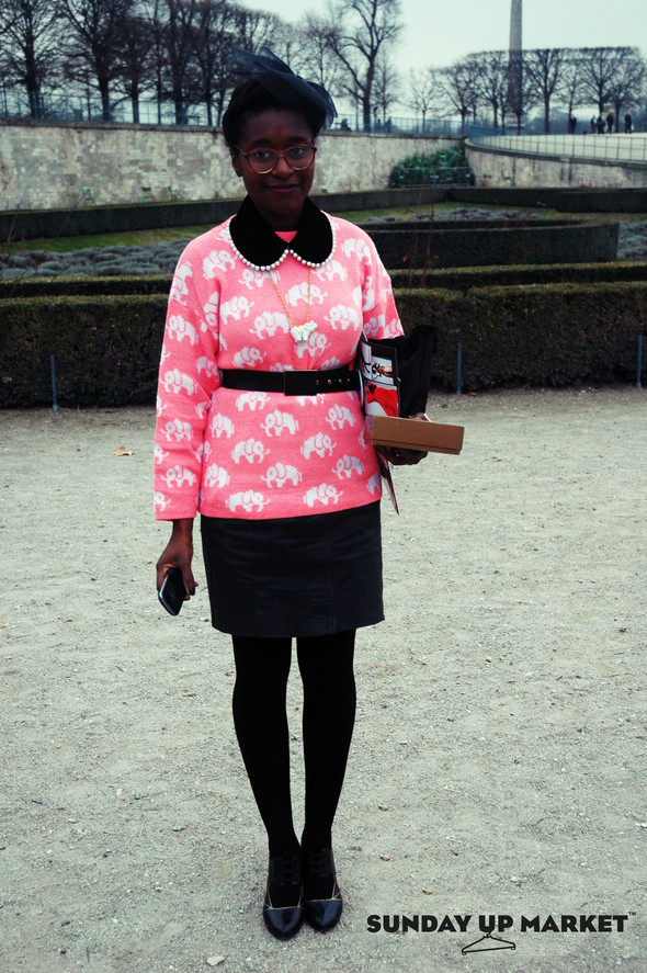 Sunday Up Market на неделе моды в Париже: streetstyle. Изображение № 1.