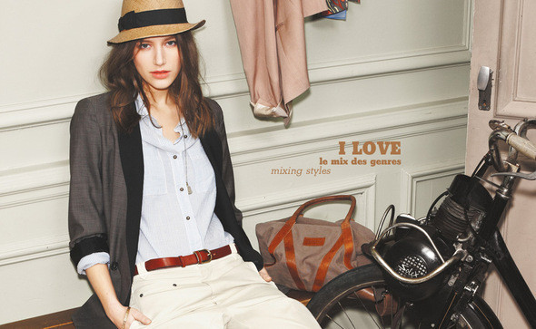Изображение 17. Comptoir des Cottoniers, коллекция весна-лето 2011.. Изображение № 14.