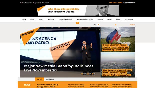 МИА «Россия сегодня» запустило агентство Sputnik. Изображение № 1.