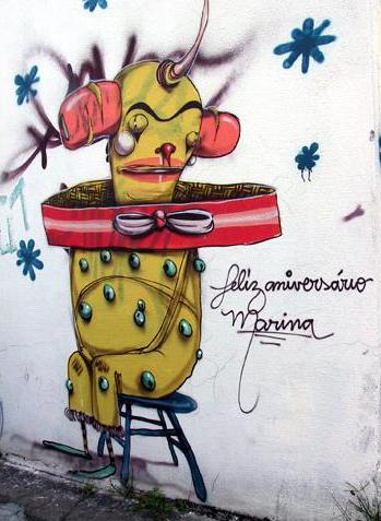Стены Рио-де-Жанейро. Изображение № 21.