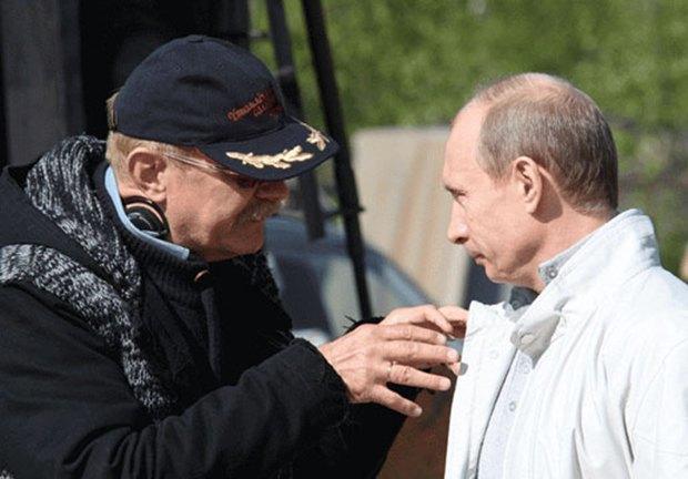 Никита Михалков и Владимир Путин. Изображение № 1.