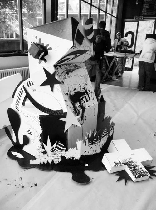 PBK9, художественная выставка в Лозанне, Швейцария. Изображение № 44.