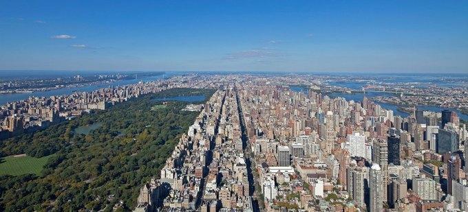 Фото дня: вид с самого высокого жилого здания Нью-Йорка. Изображение № 1.