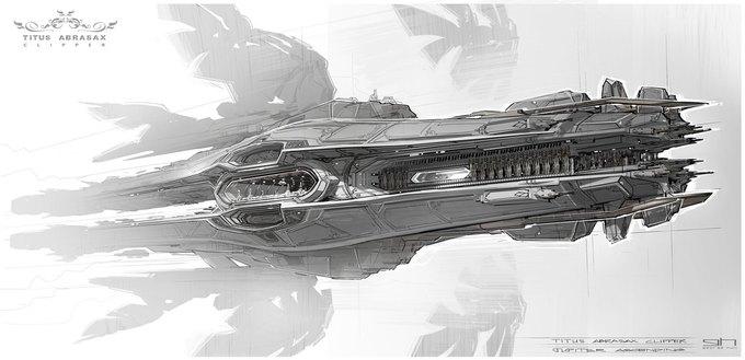 Художник «Восхождения Юпитер» выложил концепты к фильму. Изображение № 4.