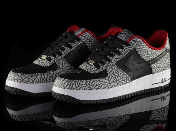Nike Air Force 1 iD Elephant Print – Sneaker News Editions. Изображение № 27.