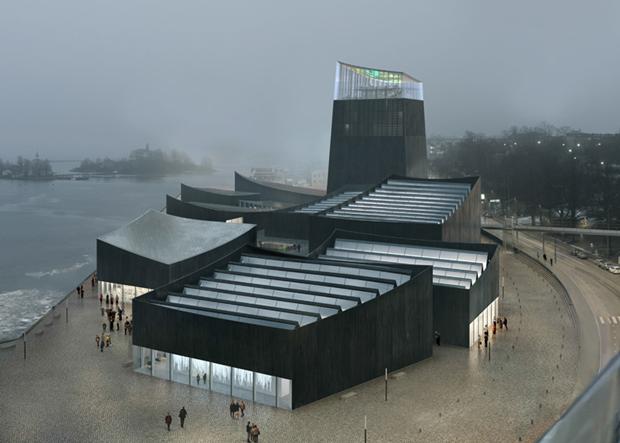 Показан проект Музея Гуггенхайма в Хельсинки . Изображение № 1.