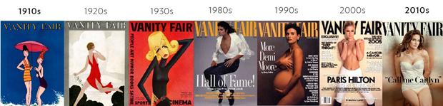 Обложки журналов1900–1950-х сравнили ссовременными. Изображение № 16.