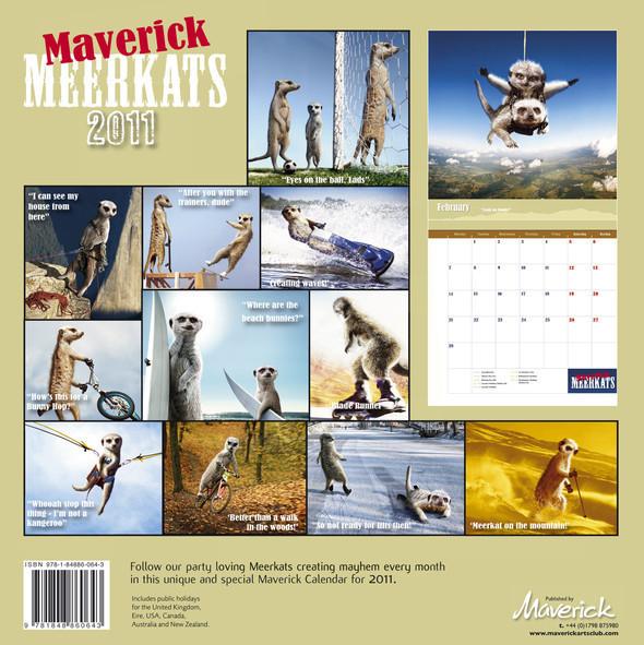 Календарь с сурикатами. Изображение № 1.