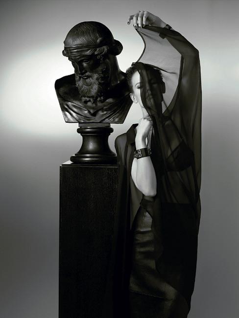 Съёмка: Саския де Брау в объективе Карла Лагерфельда. Изображение № 1.
