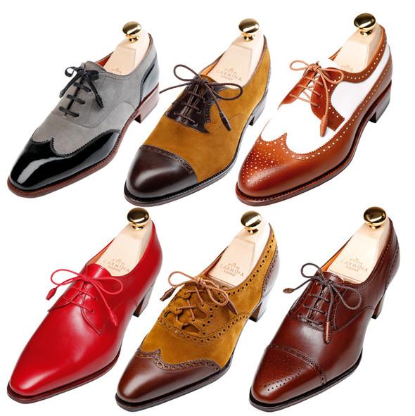 Классическая обувь для женщин: оксфорды, броги, лоуферы. Изображение № 2.