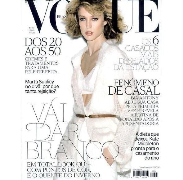 Изображение 3. Обложки Vogue: Британия, Франция и другие.. Изображение № 1.