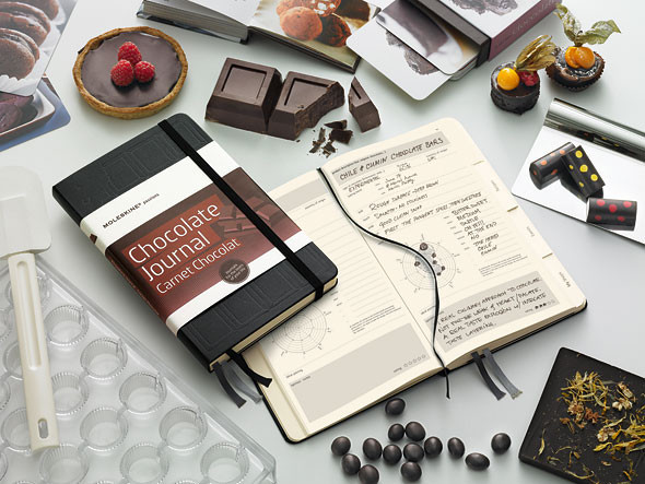 Шоколадный Moleskine для сладкоежек. Изображение № 3.