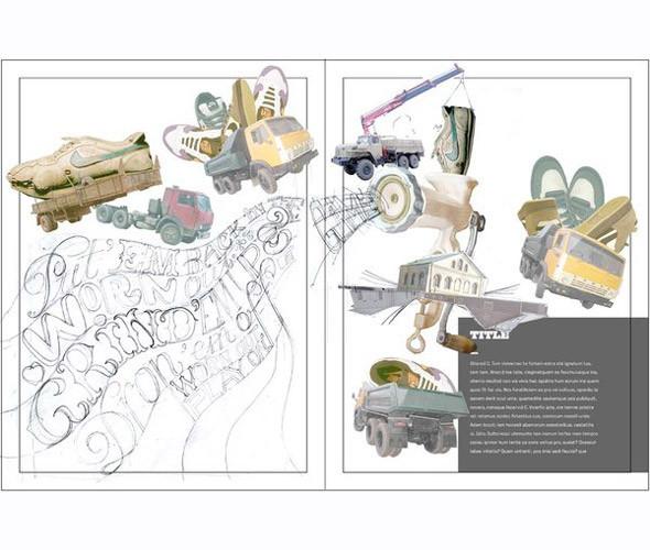 Личный опыт: 5 российских иллюстраторов, которые работают для зарубежных проектов. Изображение № 64.