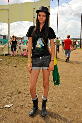 Лучшие луки поверсии сайта Style. com. Изображение № 14.