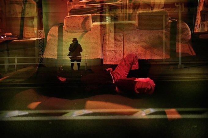 Таксист-фотограф снимает ночной город. Изображение № 5.