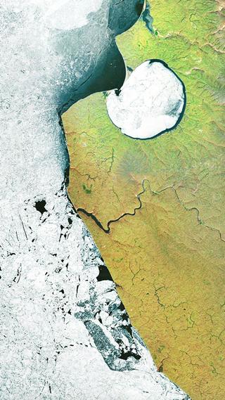 Сайт дня: обои для айфонов из спутниковых карт. Изображение № 10.