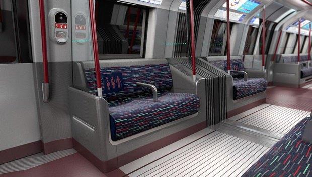 Фото: футуристические поезда метро в Лондоне. Изображение № 8.