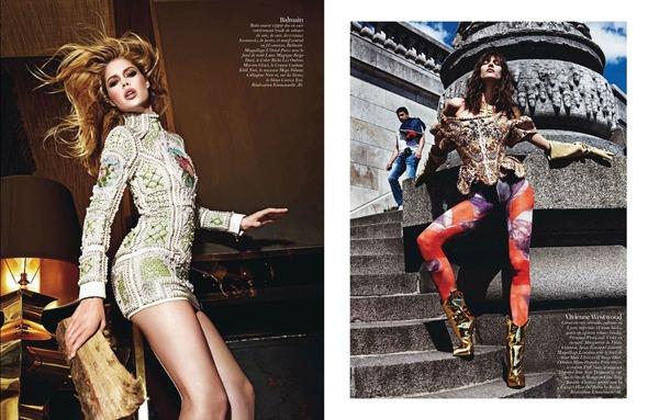 Стоп-кадр: Съемки Love, Vogue, Russh и Numero. Изображение № 11.
