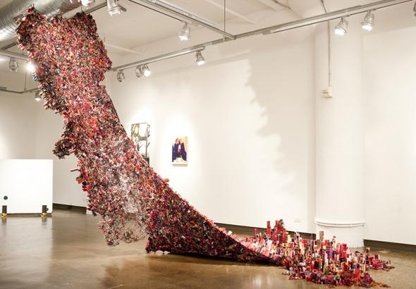 Вторая жизнь для тысячи журналов в скульптурах Юн-Ву Чой. Изображение № 3.