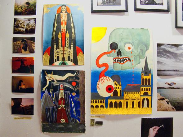 К доске: 10 художников-скейтбордистов. Изображение №75.