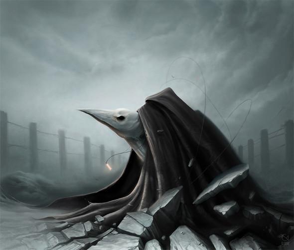 Gloom, молодой российский художник-иллюстратор. Изображение № 3.