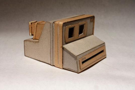 Картонные фотокамеры Киля Джонсона. Изображение № 6.