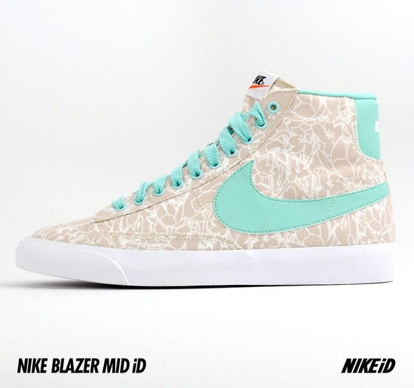 Nike X Liberty Summer Collection/  Blazer Mid iD.. Изображение № 30.
