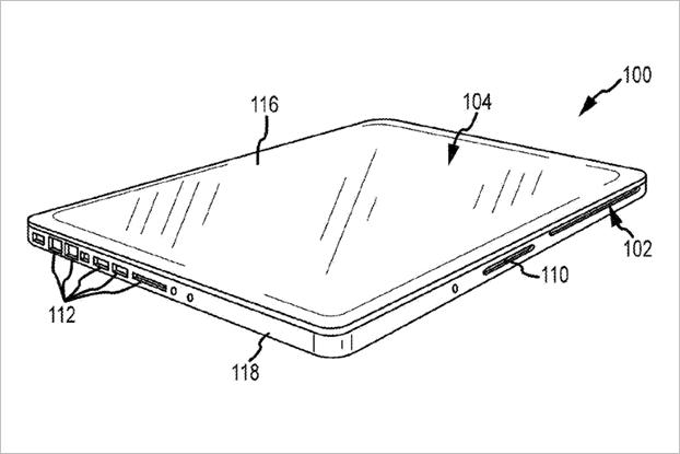 Apple получила патенты нааналог Surface Book иклавиатуру с3DTouch. Изображение № 5.