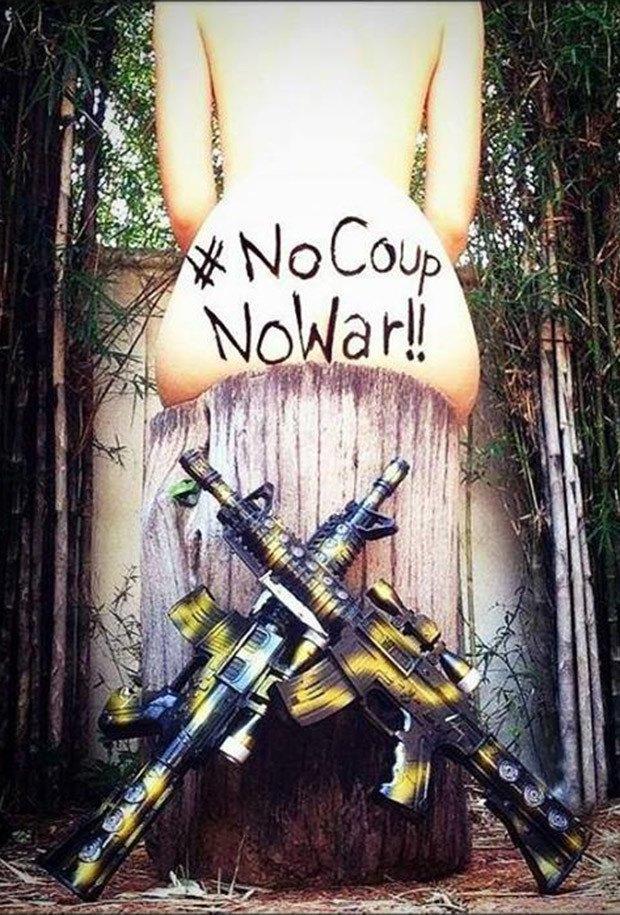 Девушки Таиланда устроили ню-протест в соцсетях. Изображение № 2.