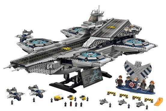 Lego показала набор Shield Helicarrier. Изображение № 1.