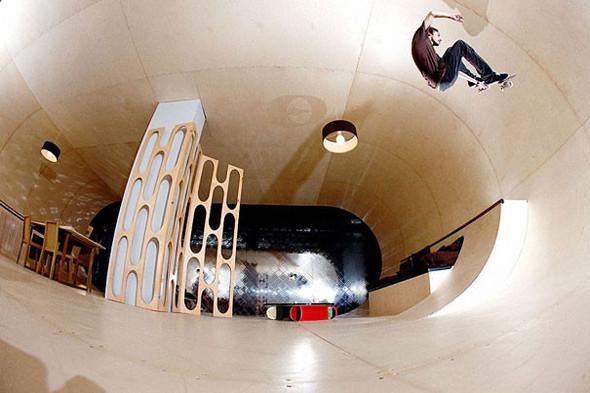 Первый скейтборд дом в мире. Изображение № 3.