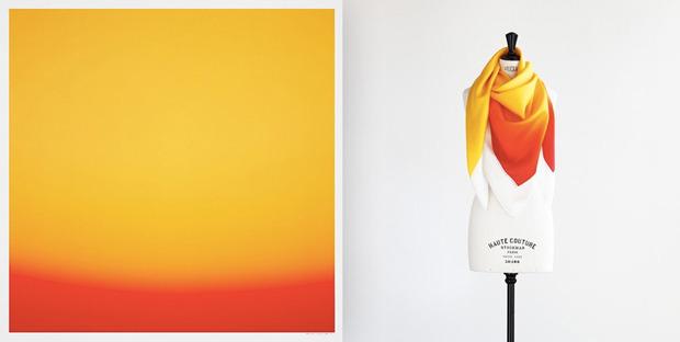 Hermes выпустили платки с полароидными фото. Изображение № 8.