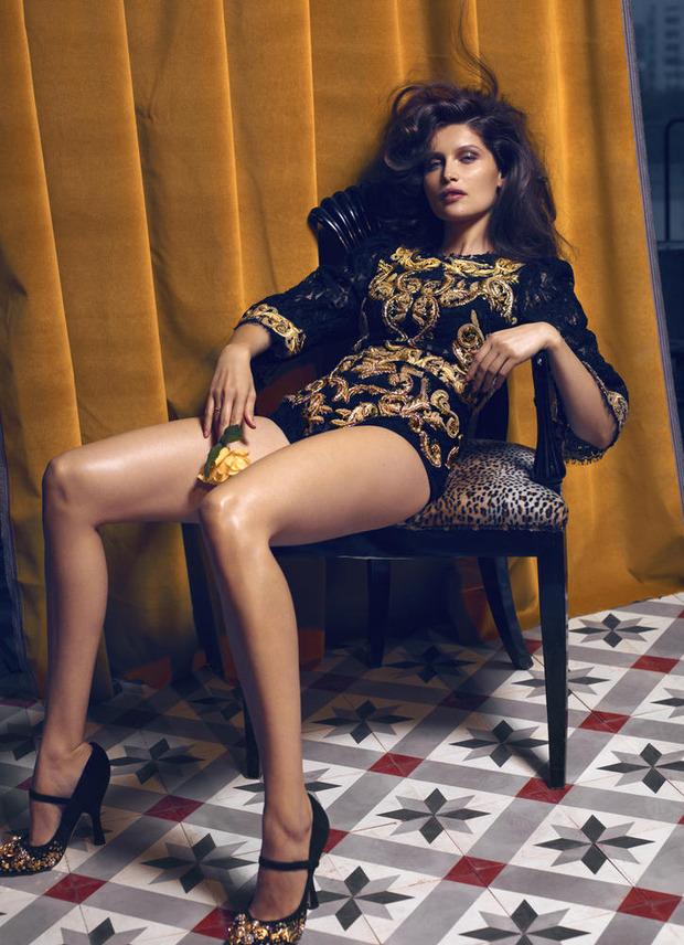 Вышли новые съемки из Bon, Flair, Vogue и других журналов. Изображение № 24.