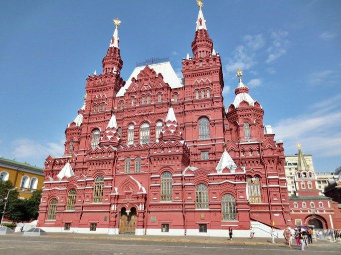 Государственный исторический музей в Москве. Изображение № 1.