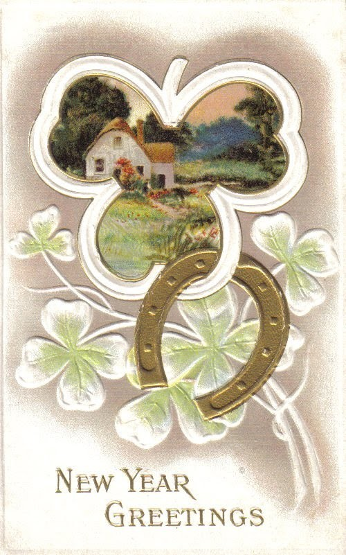 Новогодние открытки 1912 года. Изображение № 16.