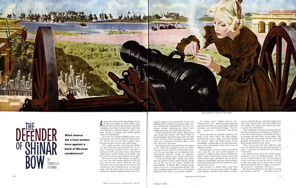 Американские иллюстраторы 40–60гг. ЧАСТЬ 1. Изображение № 65.