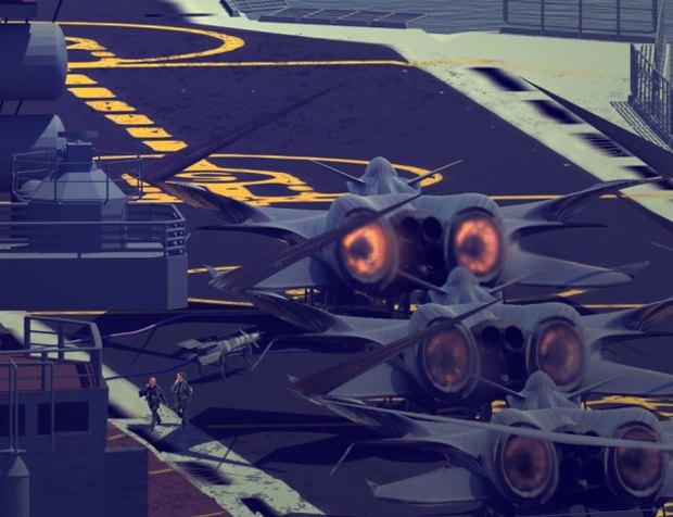 Дизайнер представил биомиметические самолёты. Изображение № 14.