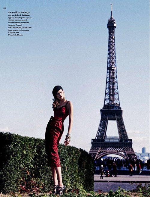 """""""Французский шик"""" для Harpers Bazaar. Изображение № 11."""