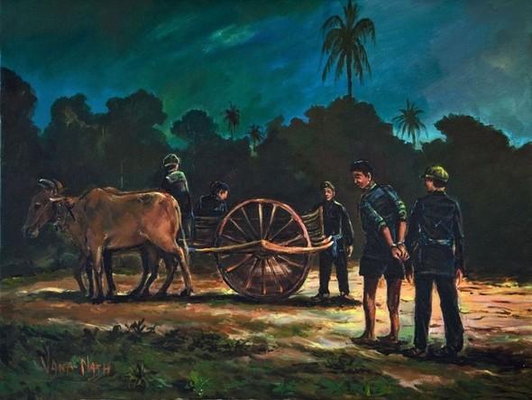 Кхмерский художник Vann Nath. Изображение № 9.