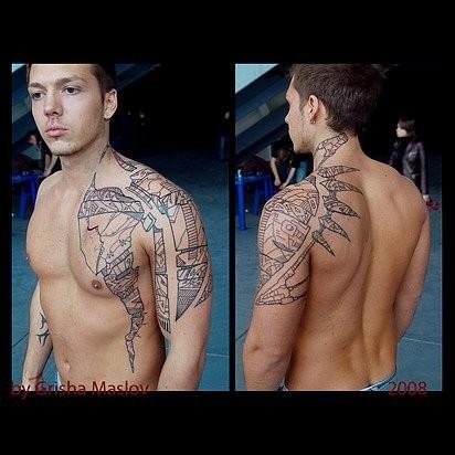 Татуировки в стиле Иннормизма. Изображение № 15.