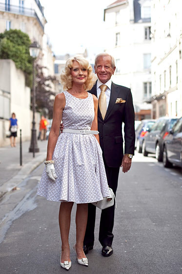 Уличный стиль на Неделе высокой моды в Париже. Изображение № 82.