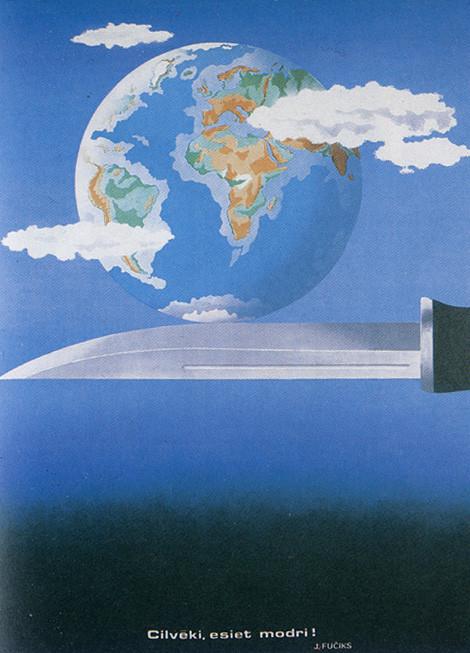 Пластическая экспрессия латышского плаката 70 – 80-егг. Изображение № 2.