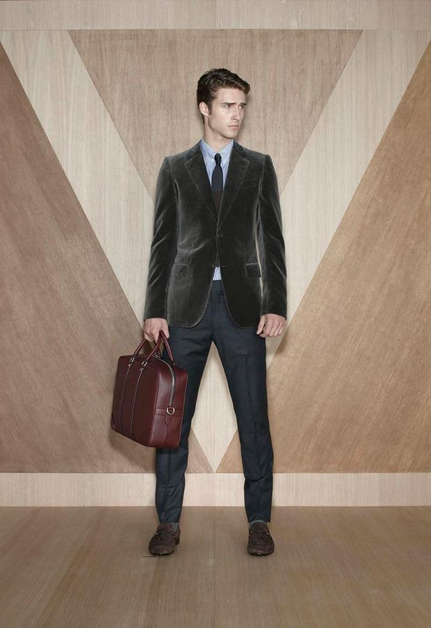 Мужские лукбуки Alexander McQueen, Comme des Garcons, Louis Vuitton и Club Monaco. Изображение № 62.