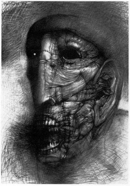 Архив работ Ждислава Бексински. Изображение № 29.
