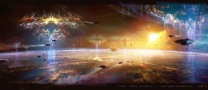 Художник «Восхождения Юпитер» выложил концепты к фильму. Изображение № 11.