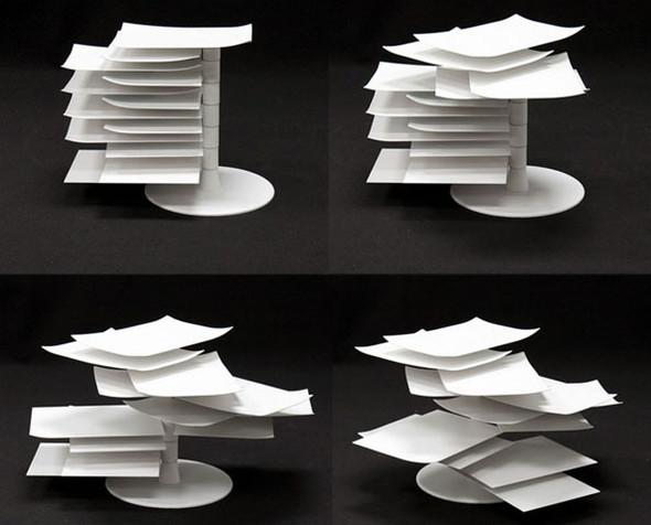 Ligne Roset 2011: столик PAPER TABLE. Изображение № 3.